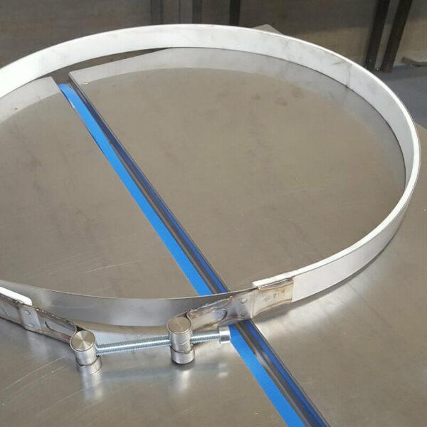 Collier de serrage, pièces détachées Iserco